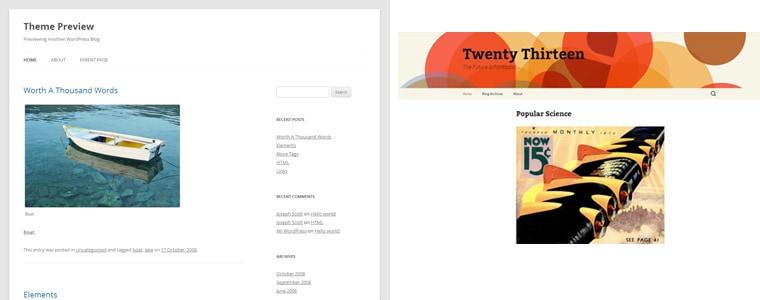 Twenty Twelve och Twenty Thirteen
