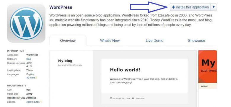 Starta hemsida WordPress